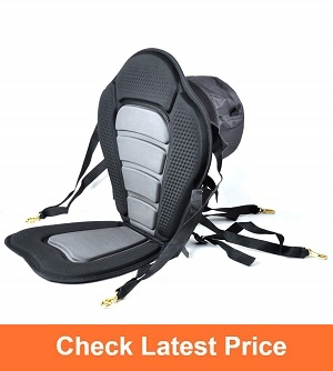 iGuerburn-Adjustable-Padded-Kayak-Boat-Seat