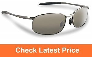 58378d0e736f Flying Fisherman San Jose Polarized Sunglasses (Copper Frame, Amber Lenses)