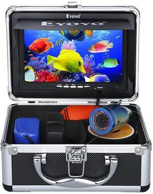 Eyoyo Portable 7 inch LCD Monitor Fishing Camera